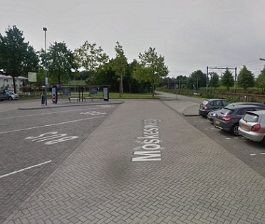 International bus stop, Prinsenbeek