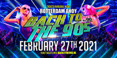 Busreis naar Back 2 the 90's