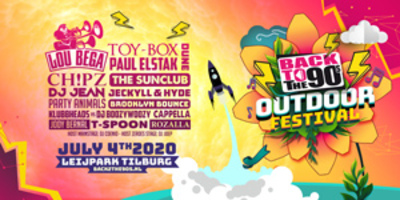 Busreis naar Back 2 the 90's Outdoor