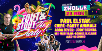 Busreis naar Fout & Stout: The Party