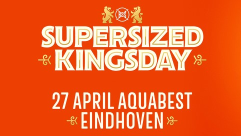 Busreis naar Supersized Kingsday