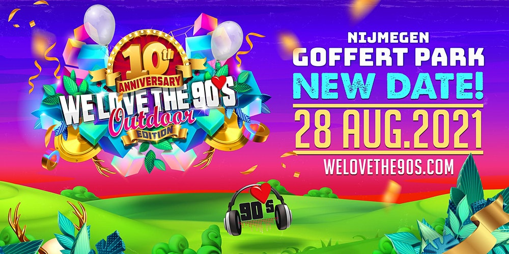 Busreis naar We Love the 90's