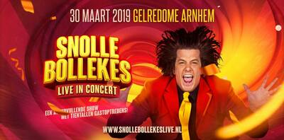 party bus huren Snollebollekes Live in Concert - Zaterdag
