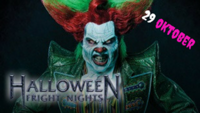 Busreis naar Walibi Fright Nights 29 oktober