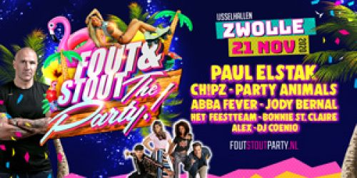 Bus naar Fout & Stout: The Party
