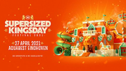 Bus naar Supersized Kingsday